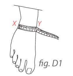 Foot Collar Measures